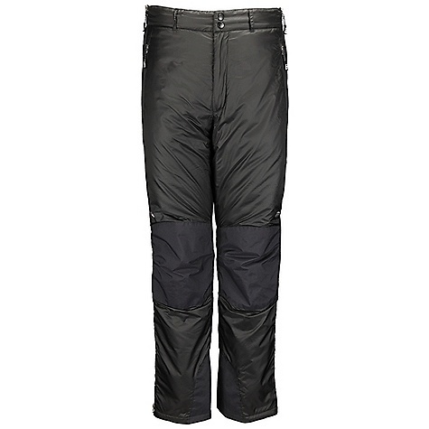 Free Shipping. Rab Men's Photon Pants DECENT FEATURES of the Rab Men's Photon Pants Pertex Microlight outer fabric 100% nylon ripstop inner fabric Primaloft Eco insulation Reinforced seat, knees and kick patches Full length YKK separating side zips Internal insulated zip baffle YKK zipped fly 2 YKK zipped Hand warmer pockets, tricot lined Snap /hook and eye waist closure Elasticated rear waistband Belt loops Snap hem closure Stuff sack Fit: Regular The SPECS Inside Leg Length: (L): 33in. / 84 cm Outer: Weight: 51g/m2 Inner: Weight: 35g/m2 Other: Weight: 106g/m2 Outer: Comp: 100% nylon 6 Inner: Comp: 100% nylon ripstop Other: Comp: 100% nylon 6 Insulation: 100g/m2 (4oz) Type: Primaloft Eco Total Weight: 18 oz / 500 g This product can only be shipped within the United States. Please don't hate us. - $180.00