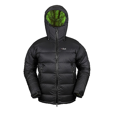 Free Shipping. Rab Men's Neutrino Plus Jacket DECENT FEATURES of the Rab Men's Neutrino Plus Jacket Narrow box wall construction Down filled hood, helmet compatible, wired peak 2-way YKK Aquaguard front zip, internal insulated zip baffle, chin guard 2 YKK Aquaguard zipped hand warmer pockets 1 internal mesh pocket, 1 YKK zipped internal security pocket Articulated elbows Velcro cuffs, hem drawcord Stuff sack Fit: Regular The SPECS Weight: 22 oz / 625 g Outer Weight/m2: 55g/m2 Outer Comp: 100% nylon 6 Insulation Fill Power: 800 Insulation: Weight (L): 275g/10oz European Goose Down This product can only be shipped within the United States. Please don't hate us. - $399.95