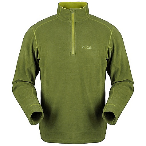 Free Shipping. Rab Men's Micro Pull-On DECENT FEATURES of the Rab Men's Micro Pull-On Polartec Classic Micro fabric YKK chest zip, chin guard Flatlock low bulk seams Fit: Regular The SPECS Weight: 160g/m2 Comp: 100% polyester (85% recycled) Total Weight: 9 oz / 260 g This product can only be shipped within the United States. Please don't hate us. - $65.00