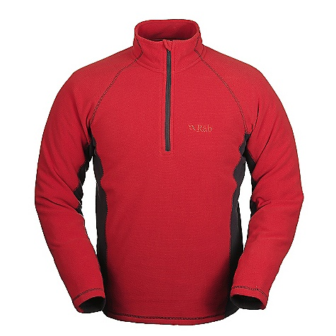 Free Shipping. Rab Men's Orbit Pull-On DECENT FEATURES of the Rab Men's Orbit Pull-On Polartec Classic Micro fabric Deep venting YKK chest zip Flatlock low bulk seams Fit: Regular The SPECS Weight: 203g/m2 Comp: 100% polyester chamois dobby solid Total Weight: 11 oz / 300 g This product can only be shipped within the United States. Please don't hate us. - $70.00