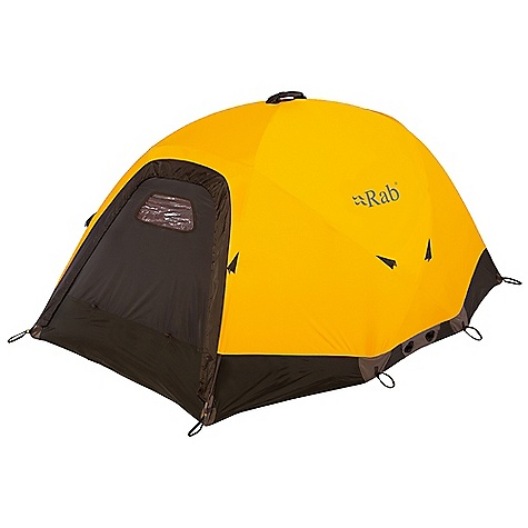 Camp and Hike Free Shipping. Rab Latok Base Tent DECENT FEATURES of the Rab Latok Base Tent Lightweight 3L 15d eVent fabric 3-4 person 4 Pole, 7 cross over geodesic design 9.35mm and 8.84mm colour coded DAC FL poles 2 side guylines 4 corner guyline connections 6 x 2.5mm polyester guyline ropes 1 tunnel vent 1 mesh door 1 door vent 1 viewing window 4 x internal pockets 70d coated nylon bathtub floor 14 V stakes 3 belay donuts - 2 at floor / 1 at apex Doorstep to prevent spindrift in tent Tunnel vent floor drain Additional compatible mesh storage loft Packed size 60cm x 20cm (24 x 8 inches) The SPECS Total weight: 115 oz / 3240 g Dimension (W x L x H): 68.9 x 94.5 x 43.3in. / 175 x 240 x 110 cm Outer: Sunshine SU This product can only be shipped within the United States. Please don't hate us. - $845.00