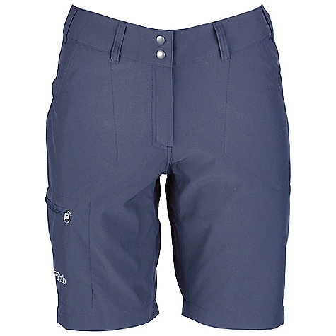 Free Shipping. Rab Women's Traverse Shorts DECENT FEATURES of the Rab Women's Traverse Shorts Belt loops Double snap waistband closure 2 Open hand warmer pockets 1 YKK zipped thigh pocket Fit: Regular The SPECS Weight: 5 oz / 140 g Length: 9in. / 24 cm Fabric Weight/m2: 132g/m2 Fabric Comp: 93% nylon, 7% spandex This product can only be shipped within the United States. Please don't hate us. - $59.95