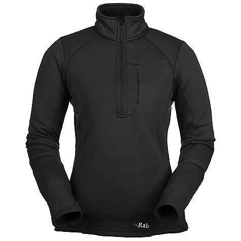 Free Shipping. Rab Women's PS Zip Top DECENT FEATURES of the Rab Women's PS Zip Top Polartec Power Stretch fabric YKK deep venting chest zip, chin guard Flatlock low bulk seams High collar Thumb loops 1 YKK Conceal zipped chest pocket Fit: Slim The SPECS Weight: 230g/m2 Comp: 88% polyester, 12% spandex Total Weight: 10 oz / 280 g This product can only be shipped within the United States. Please don't hate us. - $100.00