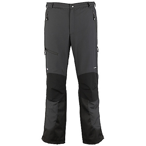 Free Shipping. Rab Men's Vapour-Rise Guide Pants DECENT FEATURES of the Rab Men's Vapour-Rise Guide Pants Pertex Equilibrium outer fabric Matrix DWS knees and seat Wicking micro fleece drop liner YKK 1/2 length side zips 2 YKK zipped thigh vents YKK zipped fly Snap and hook/eye waistband closure Part-elasticated waistband, belt loops, brace attachment points Knee articulation 2 YKK zipped handwarmer pockets 1 YKK zipped thigh pocket Hem drawcord Reinforced kick patches Eyelets for threading under-boot cord Reflective trim Fit: Regular The SPECS Inside Leg Length: L: 33in. / 84 cm Outer Weight: 115g/m2 Outer Comp: 100% nylon Knees/seat Weight: 182g/m2 Knees/seat Comp: 90% nylon 66 / 10% spandex Liner Weight: 105g/m2 Liner Comp: 100% Polyester Total Weight: 21 oz / 600 g This product can only be shipped within the United States. Please don't hate us. - $150.00