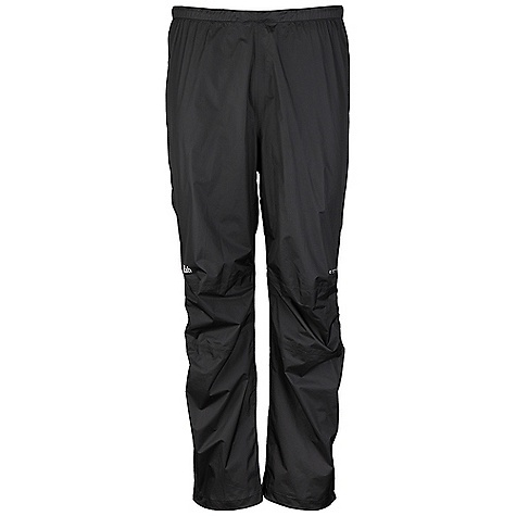 Free Shipping. Rab Men's Kinetic Pants DECENT FEATURES of the Rab Men's Kinetic Pants Pertex Shield+ 2.5L fabric 3/4 YKK side zips, internal and external storm flap Elasticated waistband with drawcord Knee articulation Hem drawcord Reflective trim Fit: Slim The SPECS Inside Leg Length: L: 32in. / 81 cm Weight: 55g/m2 Comp: 100% nylon ripstop Total Weight: 6 oz / 190 g This product can only be shipped within the United States. Please don't hate us. - $120.00