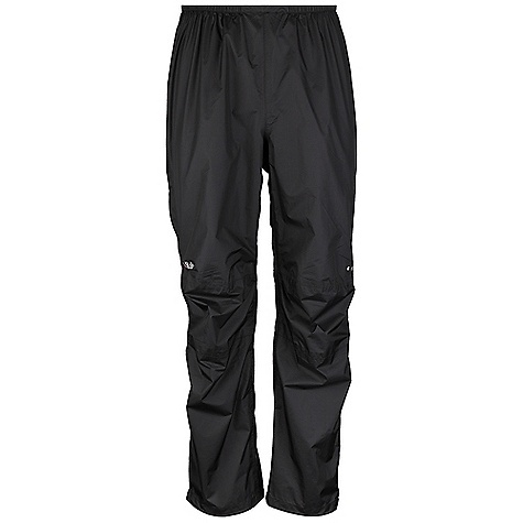 Free Shipping. Rab Women's Kinetic Pants DECENT FEATURES of the Rab Women's Kinetic Pants Pertex Shield+ 2.5L fabric 3/4 YKK side zips, internal and external storm flap Knee articulation Elasticated waistband, drawcord Hem drawcord Reflective trim Fit: Regular The SPECS Inside Leg Length: 32in. / 81 cm Weight: 55g/m2 Comp: 100% nylon ripstop Total Weight: 6 oz / 180 g This product can only be shipped within the United States. Please don't hate us. - $120.00