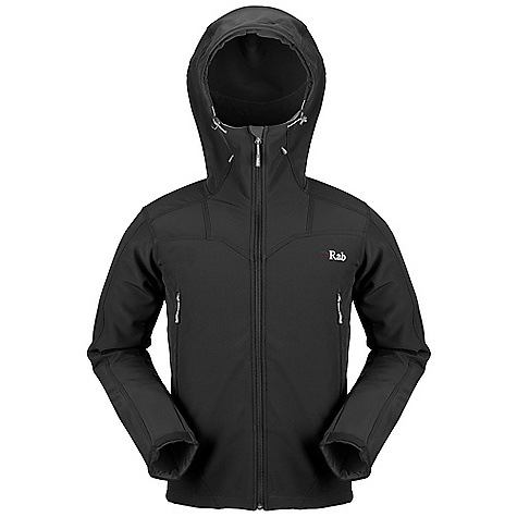 Free Shipping. Rab Men's Baltoro Alpine Jacket DECENT FEATURES of the Rab Men's Baltoro Alpine Jacket Polartec Power Shield fabric Helmet compatible hood, wired peak, YKK front zip, internal storm flap, chin guard 2 YKK zipped A-line chest pockets 1 internal YKK zipped security pocket Velcro cuffs, hem drawcord Fit: Regular The SPECS Weight: 302g/m2 Comp: 16% spandex / 84% polyester Total Weight: 24 oz / 690 g This product can only be shipped within the United States. Please don't hate us. - $200.00