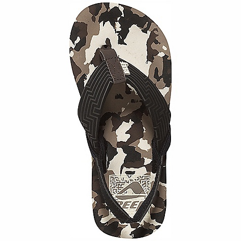 Entertainment On Sale. Reef Boy's A-Maze Sandal DECENT FEATURES of the Reef Boys' A-Maze Sandal Sandal features a fully functional maze Comfortable synthetic upper Compression molded EVA midsole with anatomical arch support Comes with an removable synthetic back strap Durable rubber outsole - $14.99