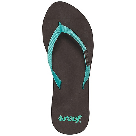 Entertainment On Sale. Reef Women's Reef Skinny Cushion Sandal DECENT FEATURES of the Reef Women's Reef Skinny Cushion Soft, narrow, woven polyester strap Featuring super soft reef cushion EVA with anatomical arch support Durable rubber outsole - $14.99