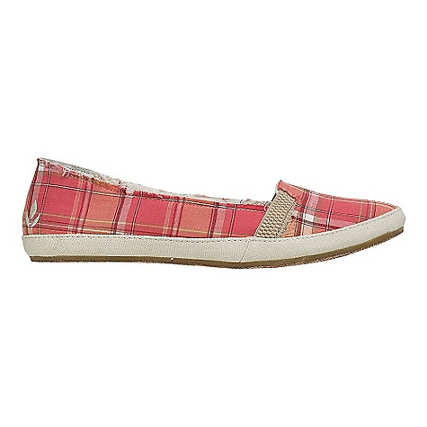 Entertainment Free Shipping. Reef Women's Reef Summer Shoe Decent features of the Reef Women's Reef Summer Cotton canvas upper with elastic goring Interior suede heel patch for comfort Mattress-inspired quilted PU foam footbed with anatomical arch support Durable rubber outsole with jute inlay - $49.95