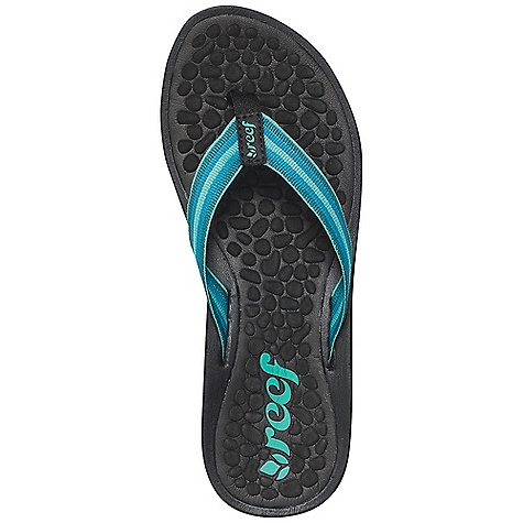 Entertainment On Sale. Reef Girl's Playa Negra Sandal Decent features of the Reef Girls' Playa Negra Woven polyester strap and toepost Heavy texture thermo-sliced footbed Contoured EVA footbed with anatomical arch support Durable rubber outsole - $21.99