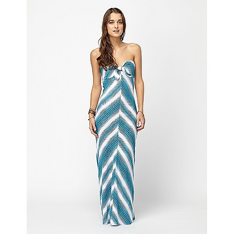 Entertainment On Sale. Free Shipping. Roxy Women's Indian Beach Desert Beach DECENT FEATURES of the Roxy Women's Indian Beach Desert Beach Yarn dye stripe knit strapless dress Mitered center front Back seams Tie front Smocking at back The SPECS 58in. HPS 100% Cotton - $37.99