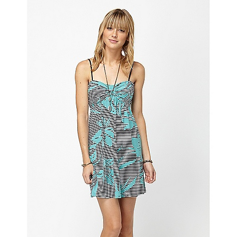 Entertainment On Sale. Roxy Women's Twinsies DECENT FEATURES of the Roxy Women's Twinsies 60% Cotton 40% Vicose Spaghetti strap dress Center front rouching 33in. hps - $25.99