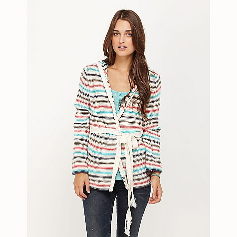 "Surf On Sale. Free Shipping. Roxy Women's Passing Through Hoody DECENT FEATURES of the Roxy Women's Passing Through 100% Cotton 3gg open cardigan with belt 27"" hps - $24.99"