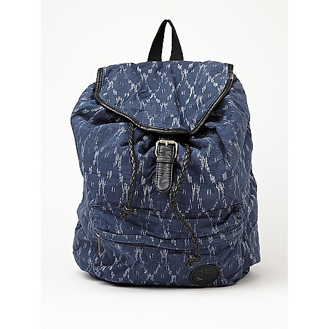 Camp and Hike On Sale. Free Shipping. Roxy Driftwood Backpack DECENT FEATURES of the Driftwood Novelty fabric rucksack Faux leather trim Logo patch The SPECS 17in.h x 14in.w x 6in.d 100% Cotton - $48.99
