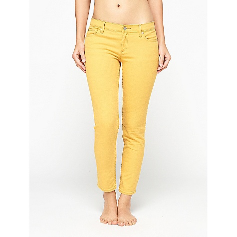 Surf On Sale. Free Shipping. Roxy Women's Skinny Flood DECENT FEATURES of the Roxy Women's Skinny Flood 5 pkt skinny crop jean The SPECS 13in. knee 11in. leg opening 30in. inseam - $34.99