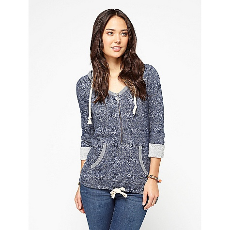 Camp and Hike On Sale. Free Shipping. Roxy Women's Edge Of Camp DECENT FEATURES of the Roxy Women's Edge Of Camp 240gms half zip hoody Kanga pocket Cinched bottom hem with drawcord The SPECS 75% Cotton 25% Poly Loop Terry Fleece 26in. hps - $31.99