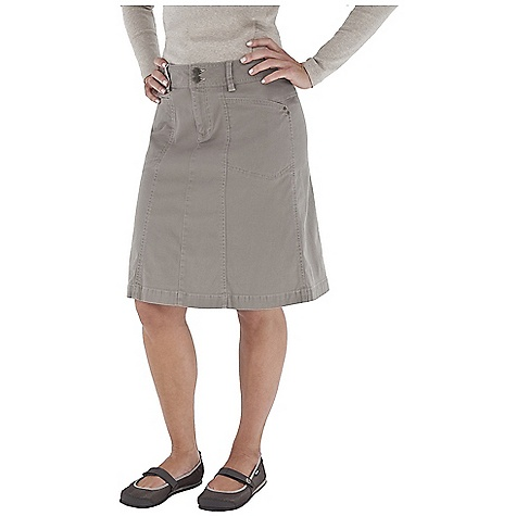 Entertainment Free Shipping. Royal Robbins Women's Kick Around Skirt DECENT FEATURES of the Royal Robbins Women's Kick Around Skirt UPF 50+ Logo shank closure Flannel lined waistband Logo color zipper tape at fly Logo rivet reinforcement details The SPECS Natural fit Length: 21in. Skirt Fabric: Kick Back Canvas - $64.95