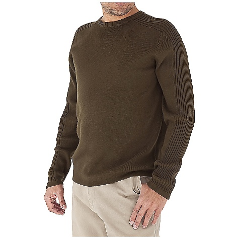 Fitness Free Shipping. Royal Robbins Men's Quebec Sport Crew Top DECENT FEATURES of the Royal Robbins Men's Quebec Sport Crew Top 3x3 Rib running down shoulder and sleeves 1x1 Rib body Straight hem The SPECS Traditional fit Fabric: Spruce Yarn - $69.95