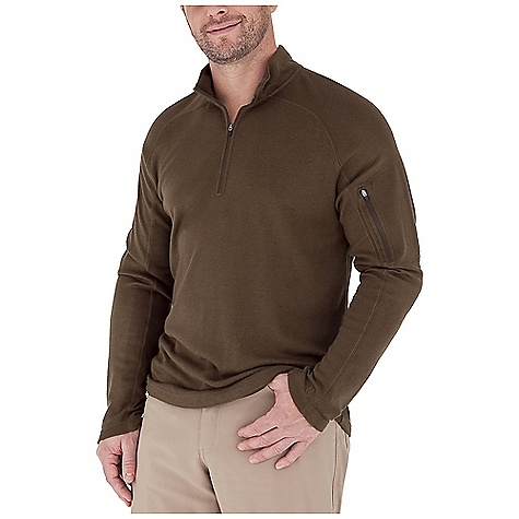 Entertainment Free Shipping. Royal Robbins Men's The Duke 1-4 Zip Top DECENT FEATURES of the Royal Robbins Men's The Duke 1/4 Zip Top UPF 50+ Rotated shoulder seams Zip secure sleeve pocket The SPECS Contemporary fit Length: 9in. Zipper Fabric: Winter Wool Blend - $84.95