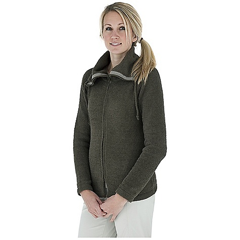 Entertainment Free Shipping. Royal Robbins Women's Chenille Zip Up Jacket DECENT FEATURES of the Royal Robbins Women's Chenille Zip Up Jacket Two-way front zipper Exposed zipper tape Zip through full collar with drawcord The SPECS Length: 25in. Natural fit Fabric: Chenille Yarn - $69.95