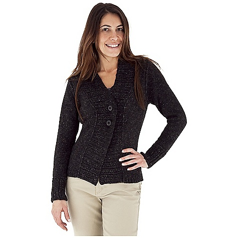 Entertainment Free Shipping. Royal Robbins Women's Elena Button Cardigan DECENT FEATURES of the Royal Robbins Women's Elena Button Cardigan Rib on center front and sleeve hem 2x2 Rib at hem Button closure The SPECS Natural fit Length: 26in. Fabric: Elena Yarn - $67.95