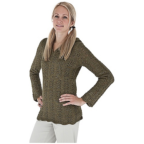 Entertainment Free Shipping. Royal Robbins Women's Elena Hoodie DECENT FEATURES of the Royal Robbins Women's Elena Hoodie Pointelle stitch Open v-neck hoodie Ties at neck Scalloped edge at hem The SPECS Natural fit Length: 27in. Fabric: Elena Yarn - $69.95