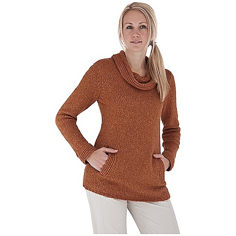 Entertainment Free Shipping. Royal Robbins Women's Helium Pullover DECENT FEATURES of the Royal Robbins Women's Helium Pullover Irish Aran cable pattern cowl Hand warmer pockets The SPECS Length: 30in. Natural fit Fabric: Scotia Yarn - $68.95