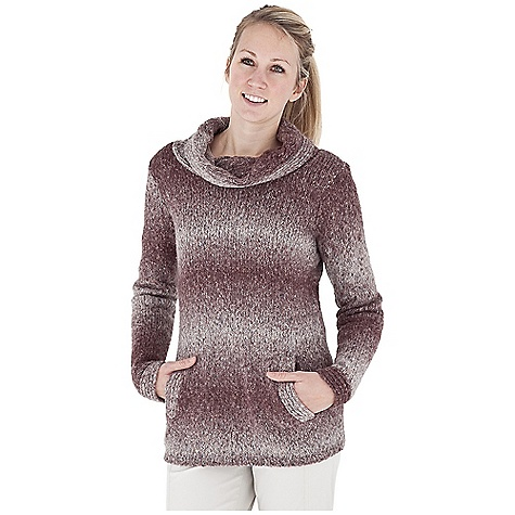 Entertainment Free Shipping. Royal Robbins Women's Ombre Pullover DECENT FEATURES of the Royal Robbins Women's Ombre Pullover Irish Aran cable pattern cowl Hand warmer pockets The SPECS Length: 30in. Natural fit Fabric: Ombre Yarn - $74.95
