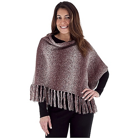 Entertainment Free Shipping. Royal Robbins Women's Ombre Poncho DECENT FEATURES of the Royal Robbins Women's Ombre Poncho Jersey stitch Fringe edge The SPECS Dimension: 19in. x 27in. Fabric: Ombre Yarn - $49.95