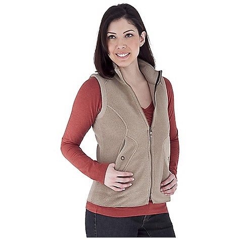 Entertainment Free Shipping. Royal Robbins Women's Soma Vest DECENT FEATURES of the Royal Robbins Women's Soma Vest Two-way front zipper Brushed fleece collar Pocket flap and cuff Zip secured pocket Snap secured hand warmer pockets Snap cuff Back waist inset The SPECS Natural fit Length: 27in. Fabric: Houndstooth Fleece - $84.95