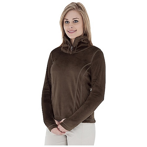 Entertainment Free Shipping. Royal Robbins Women's Snow Bunny 1-4 Zip Top DECENT FEATURES of the Royal Robbins Women's Snow Bunny 1/4 Zip Top Grosgrain pull with flower rivet logo Thumb hole at cuff Overlock detail stitching Straight hem Hip length The SPECS Natural fit Fabric: Snow Bunny Fleece - $64.95