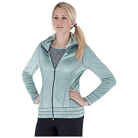 Entertainment Free Shipping. Royal Robbins Women's Snow Bunny Jacket DECENT FEATURES of the Royal Robbins Women's Snow Bunny Jacket Two-way front zip through collar Grosgrain pull with flower rivet logo Rotated side panel Zip secure hand warmer pockets Overlock detail stitching Straight hem Hip length The SPECS Natural fit Fabric: Snow Bunny Fleece - $74.95