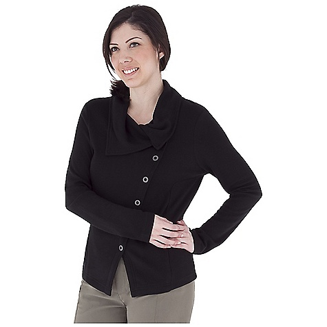 Entertainment Free Shipping. Royal Robbins Women's Enroute Jacket DECENT FEATURES of the Royal Robbins Women's Enroute Jacket UPF 50+ Asymmetric ring snap front closure Zip secured pockets Lapping hem line Hip length The SPECS Natural fit Fabric: Winter Wool Blend - $89.95