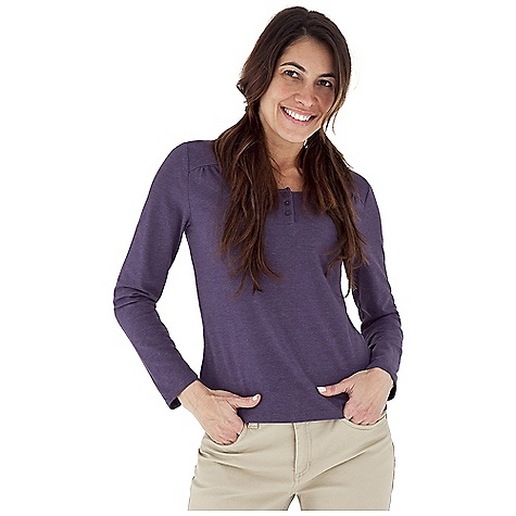 Entertainment Free Shipping. Royal Robbins Women's Essential Traveler Henley Top DECENT FEATURES of the Royal Robbins Women's Essential Traveler Henley Top UPF 50+ Rotated shoulder seams Button henley Back yoke detail Hip length The SPECS Natural fit Fabric: Stretch Jersey - $54.95