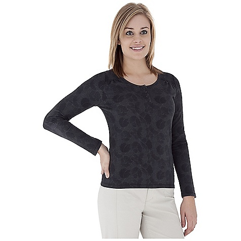 Entertainment Free Shipping. Royal Robbins Women's Essential Traveler Printed Henley Top DECENT FEATURES of the Royal Robbins Women's Essential Traveler Printed Henley Top UPF 50+ Rotated shoulder seams Button henley Back yoke detail Hip length The SPECS Natural fit Fabric: Stretch Jersey - $57.95