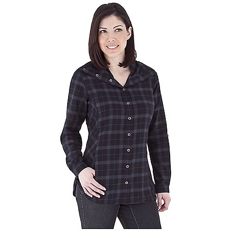 Entertainment Free Shipping. Royal Robbins Women's Transit Plaid Tunic Top DECENT FEATURES of the Royal Robbins Women's Transit Plaid Tunic Top Oversized collar Long sleeves roll to 3/4 length Zip secured pocket Shirt tail hem with tab detail Bias panels at sides Bias insert on back panel The SPECS Natural fit / Tunic length Fabric: Transit Plaid - $63.95