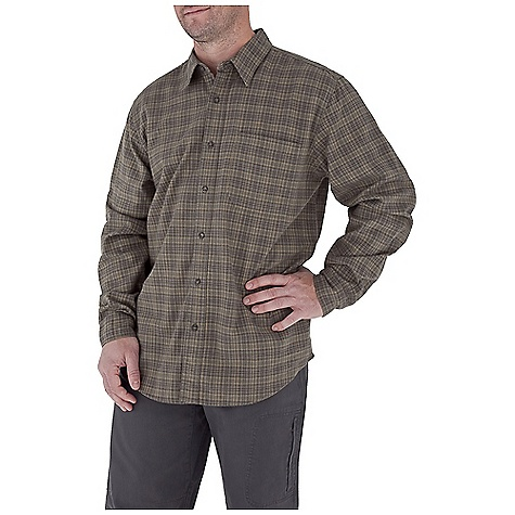 Entertainment Free Shipping. Royal Robbins Men's Banks Island Plaid L-S Top DECENT FEATURES of the Royal Robbins Men's Banks Island Plaid Long Sleeve Top Dual chest pockets with button closure Shirt tail hem The SPECS Traditional fit Fabric: Banks Island Plaid - $61.95