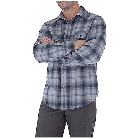 Entertainment Free Shipping. Royal Robbins Men's Blackrock Plaid L-S Top DECENT FEATURES of the Royal Robbins Men's Blackrock Plaid Long Sleeve Top Dual chest pockets with button closure Shirt tail hem The SPECS Traditional fit Fabric: Blackrock Plaid - $61.95