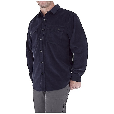Entertainment Free Shipping. Royal Robbins Men's Coloma Cord Top DECENT FEATURES of the Royal Robbins Men's Coloma Cord Top UPF 50+ Dual chest pockets with slot button closures Slot buttons down center front placket for added durability Asymmetric back yoke The SPECS Contemporary fit Fabric: Canyon Cord - $67.95