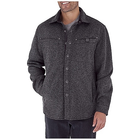 Entertainment Free Shipping. Royal Robbins Men's Deal Shirt Jacket DECENT FEATURES of the Royal Robbins Men's Deal Shirt Jacket UPF 50+ Bonded fleece inside Zip secure right chest and hand warmer pockets Snap closure on left chest pocket One handed snap closures at center front placket Snap closures at cuffs Pointed back yoke with center back seam The SPECS Center Back Length: 31in. Contemporary fit Fabric: Deal Knit - $119.95