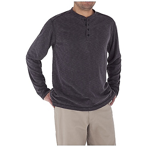 Entertainment Free Shipping. Royal Robbins Men's Desert Knit L-S Henley Top DECENT FEATURES of the Royal Robbins Men's Desert Knit Long Sleeve Henley Top Sand washed finish Rotated shoulder seams 4 Button, 6 1/2in. placket length Straight hem with side vents The SPECS Traditional fit Fabric: Desert Knit - $59.95