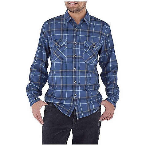 Entertainment Free Shipping. Royal Robbins Men's Leadville Flannel L-S Top DECENT FEATURES of the Royal Robbins Men's Leadville Flannel Long Sleeve Top UPF 50+ Dual chest pockets with button closure Shirt tail hem The SPECS Contemporary fit Fabric: Hollow Core Flannel - $69.95