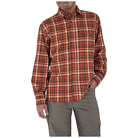 Entertainment Free Shipping. Royal Robbins Men's Lewiston L-S Top DECENT FEATURES of the Royal Robbins Men's Lewiston Long Sleeve Top UPF 50+ Chest pocket with button closure Shirt tail hem The SPECS Traditional fit Fabric: Lewiston Hollow Core Flannel - $69.95