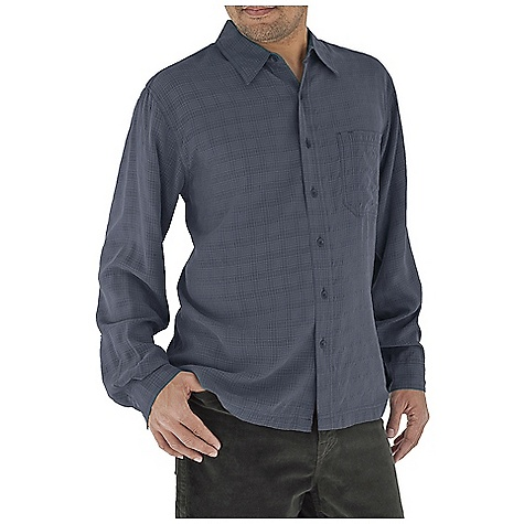 Entertainment Free Shipping. Royal Robbins Men's San Juan L-S Top DECENT FEATURES of the Royal Robbins Men's San Juan Long Sleeve Top Sand washed finish Drop-in chest pocket with pen slot Mitered hem The SPECS Traditional fit Fabric: 4 oz, San Juan Modal 89% Modal Rayon 11% Polyester - $59.95