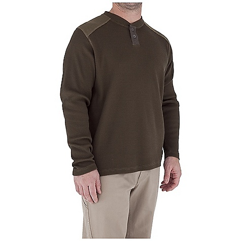 Entertainment Free Shipping. Royal Robbins Men's Winter Waffle Henley Top DECENT FEATURES of the Royal Robbins Men's Winter Waffle Henley Top UPF 50+ 2 Button 3 1/2in. placket Reverse side of fabric at shoulders The SPECS Traditional fit Fabric: Winter Waffle - $57.95