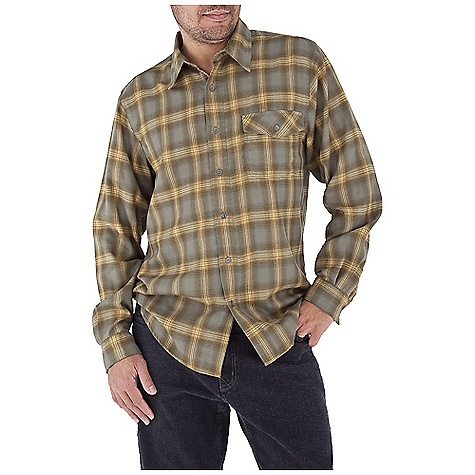 Entertainment Free Shipping. Royal Robbins Men's Arriba Flannel L-S Top DECENT FEATURES of the Royal Robbins Men's Arriba Flannel Long Sleeve Top UPF 30+ Chest pocket with button closure Double pointed back yoke Shirt tail hem The SPECS Contemporary fit Fabric: Hollow Core Flannel - $69.95