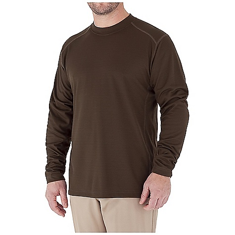 Entertainment Free Shipping. Royal Robbins Men's Dri-Release Base L-S Crew Top DECENT FEATURES of the Royal Robbins Men's Dri-Release Base Long Sleeve Crew Top UPF 50+ Rotated shoulder seams Full length side panel gusset The SPECS Traditional fit Fabric: Dri-Release Base Waffle - $49.95