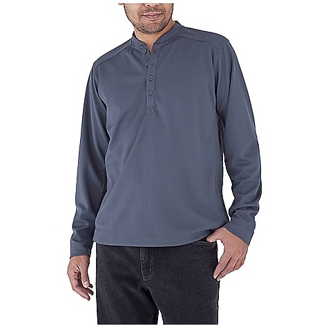 Entertainment Free Shipping. Royal Robbins Men's Performance Waffle Henley Top DECENT FEATURES of the Royal Robbins Men's Performance Waffle Henley Top UPF 50+ Rotated shoulder seams Full length side seam gusset The SPECS Traditional fit Length: 9in. Placket Fabric: Performance Waffle - $59.95