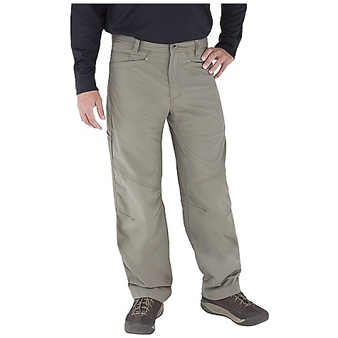 Entertainment Free Shipping. Royal Robbins Men's Cool Trek Pant DECENT FEATURES of the Royal Robbins Men's Cool Trek Pant UPF 50+ Drop-in cell phone pocket on thigh Logo rivet reinforced back patch pockets Secondary zip secure right back pocket Knee darts for articulation The SPECS Regular fit Fabric: Brushed Back Polyester - $84.95